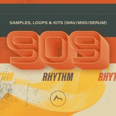 ADSR - 909 Rhythm - Samples, Loops& Kits