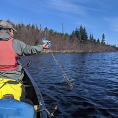 Short Track: Early Season BWCA Paddling 2021, Rivers & Lakes