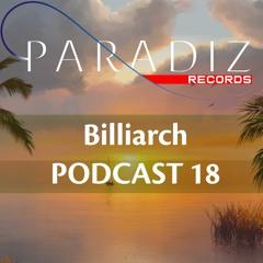 Paradiz Podcast 18 mixed by Billiarch