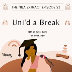 Episode 23: Uni'd A Break