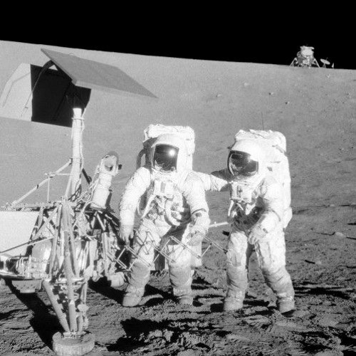 Chronique lunaire n°14 Le temps des copains sur la Lune