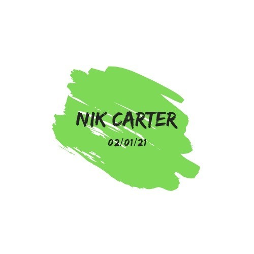 Nik Carter 02/01/21