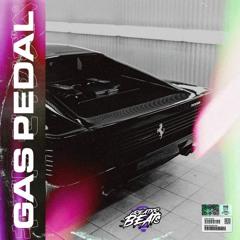 gas pedal. (flip)