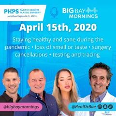Dr. Kaplan on Big Bay Mornings April 15, 2020