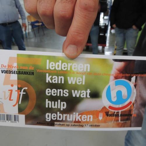 2020 - 10 - 13 Karel Van Schie En Mees Van Egmond Over Inzamelingsacties Voedselbank Leiden