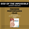 God Of The Impossible (High Key Performance Track Without Background Vocals)