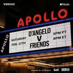 D'Angelo - What Is Love (with Keyon Harrold) - Verzuz - Live At The Apollo (February 27, 2021)