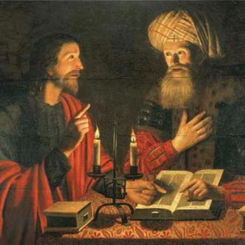8 Stories - Jesus And Nicodemus