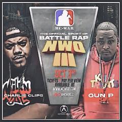 Charlie Clips Vs. Oun P  (2021) Full Rap Battle