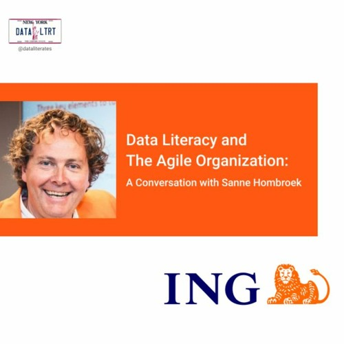 Data Literacy and  The Agile Organization:   A Conversation with Sanne Hombroek