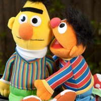 Bert And Ernie Are Puppets