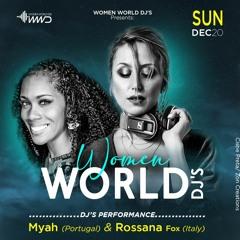 WOMEN WORLD DJ'S #WeekendEdition 2020 - FEEL IT | DJ ROSSANA FOX