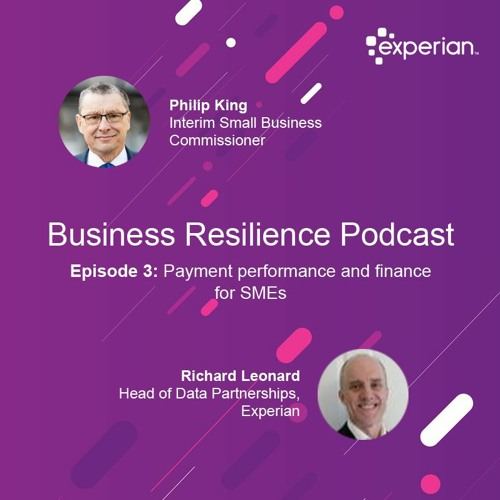 Business Resilience Podcast Episode 3: Payment performance and finance for SMEs