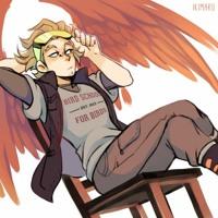 "Patreon Version: ""Broken Wings"" A Soft Dom Emotional/Drunk Hawks x Listener"