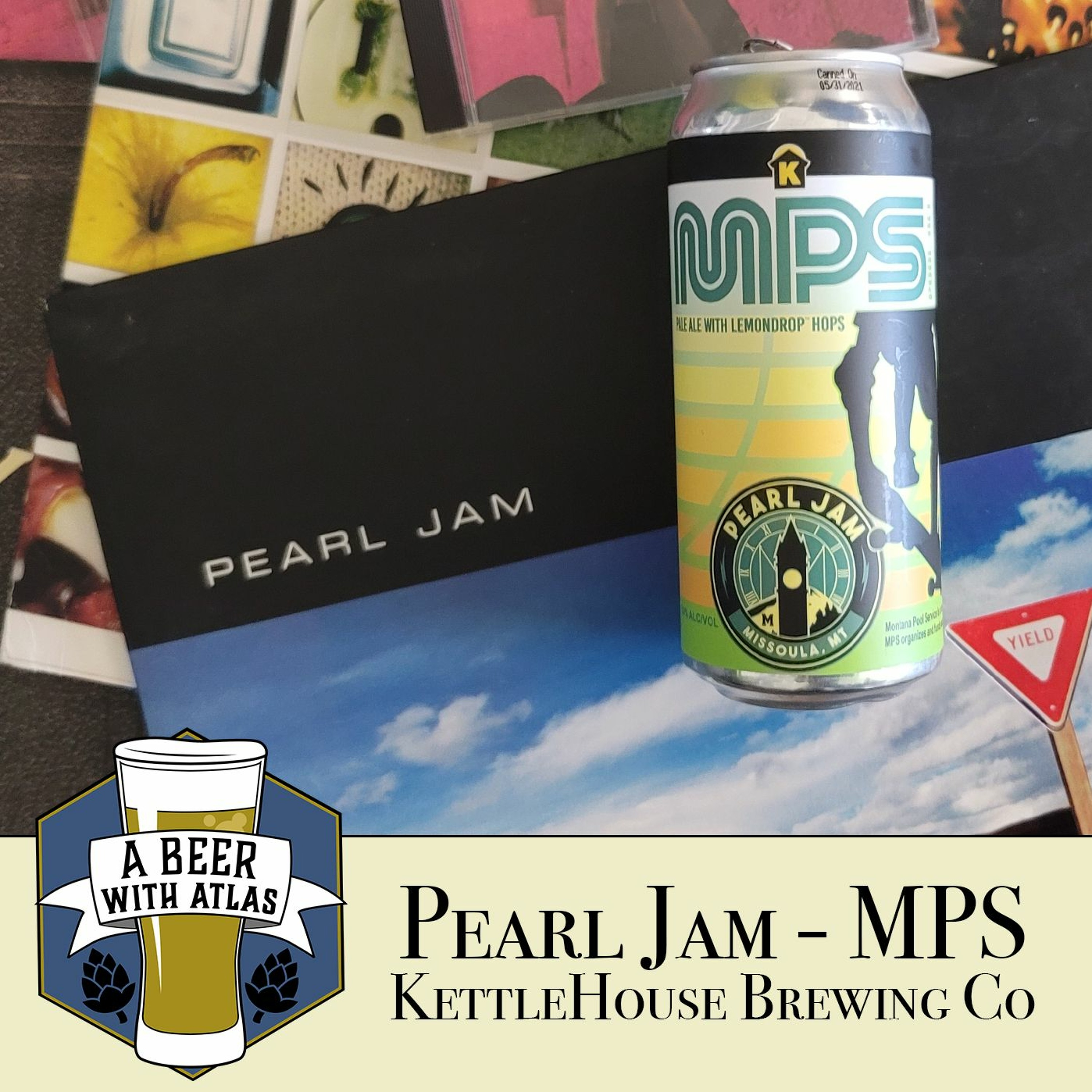 Pearl Jam Beer   MPS - A Beer with Atlas 156