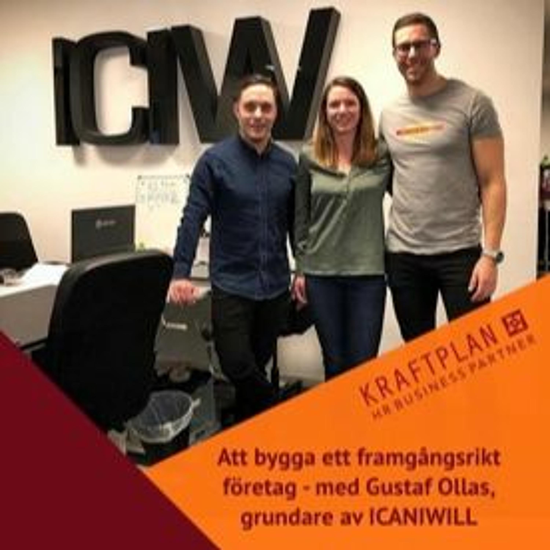 HRforthewin träffar Gustaf Ollas, grundare av ICANIWILL