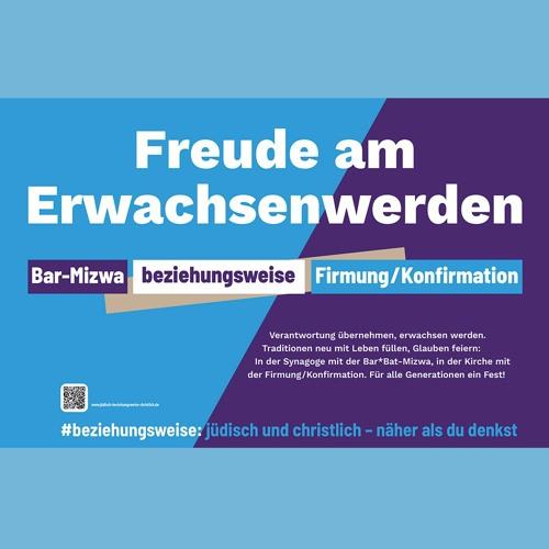Freude am Erwachsenwerden: Bar-Mizwa beziehungsweise Firmung/Konfirmation