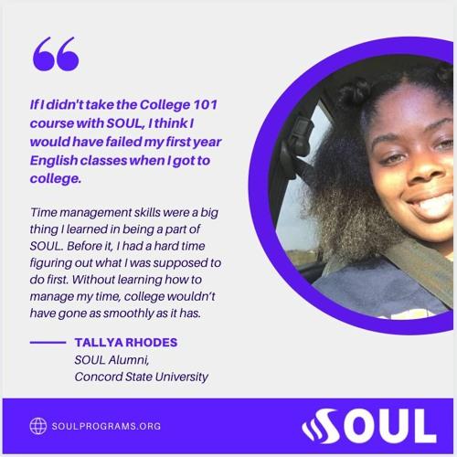 Tallya's - SOUL Story