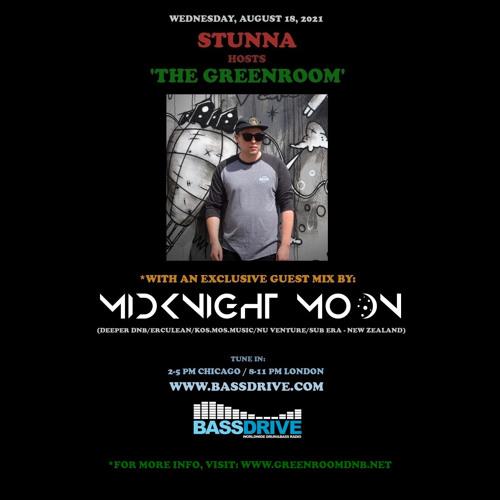 Download Stunna - Greenroom DNB Show (MidKnighT MooN Guest Mix) (18/08/2021) mp3