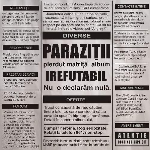 parazitii dulce autodistrugere)