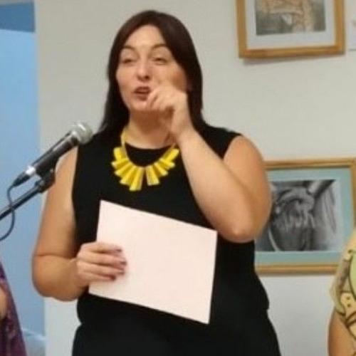 Paola Ovejero,La Directora  del Centro Cultural y Deportivo Papa Francisco
