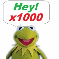 """Kermit the Frog Saying """"Hey!"""" 1,000 Times"""