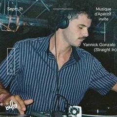 Musique D'Apéritif Invite Yannick Gonzalo(Straight In)