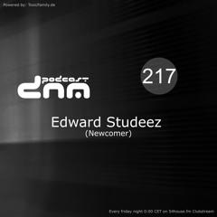 Digital Night Music Podcast 217 mixed by Edward Studeez
