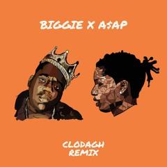 biggie x a$ap Rocky (machine gun funk x fuckin' problem)