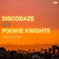 DiscoDaze #189 - 09.04.21 (Guest Mix - Pookie Knights)
