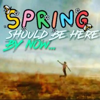 Spring Should Be Here Right Now