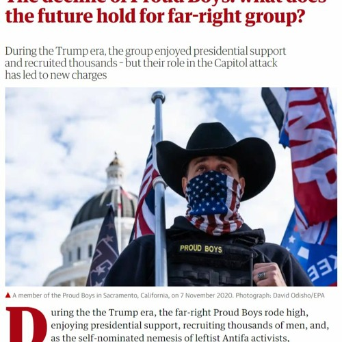 9:10 AM 2/13/2021 - The decline of Proud Boys – The Guardian