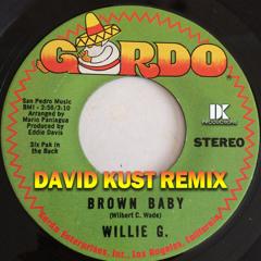 Willie G - Brown Baby (David Kust Remix)