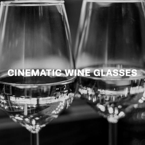 Cinematic Wine Glasses Demo 1