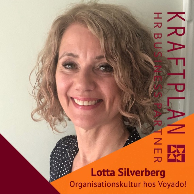 Affärsnära HR med Lotta Silverberg, People Xperience Manager hos Voyado