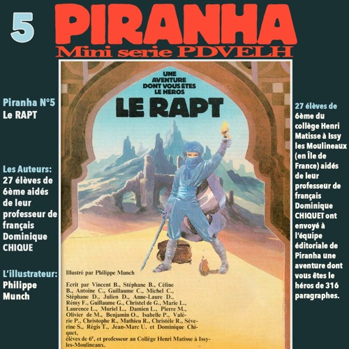 Mini Serie Piranha: Le Rapt