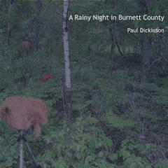 A Rainy Night In Burnett County