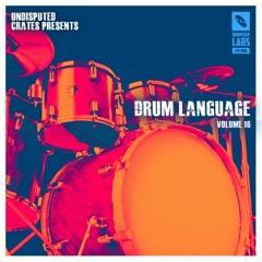 Drum Language 16 Audio Preview