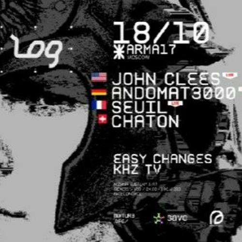 John Clees - Live Pa - (Telepathic Energy) LOG @ ARMA17 : Moscow