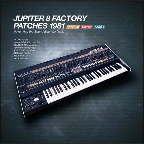 Roland Jupiter 8 Factory Patches 1981
