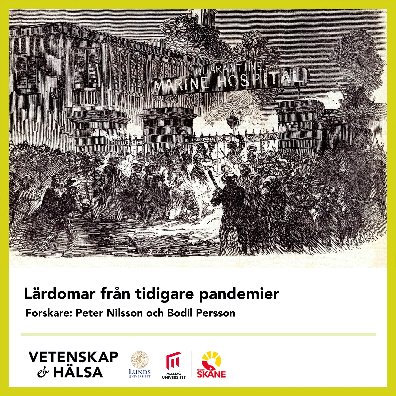 Lärdomar från tidigare pandemier