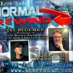 Paranormal Rewind on the Lizzie Borden Murder House event