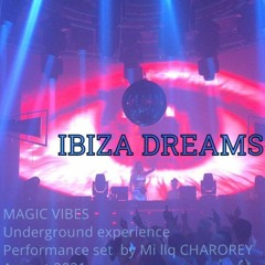 Showcase set tech008 - Electronic in dark / I DREAM OF PERFORMING in IBIZA with my musical material.