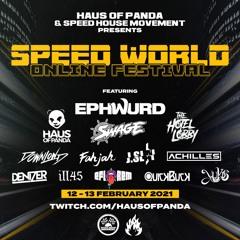 FAHJAH @ SPEED WORLD 2 [FEB 12-13*2021]