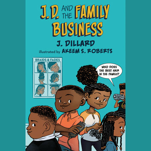 J.D. and the Family Business by J. Dillard, read by Tivia Lynnell