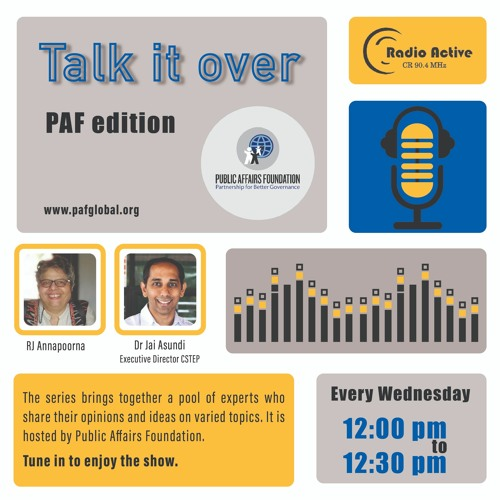 Talk It Over Ep 9 With  Dr.Jai Asundi By RJ Annapoorna