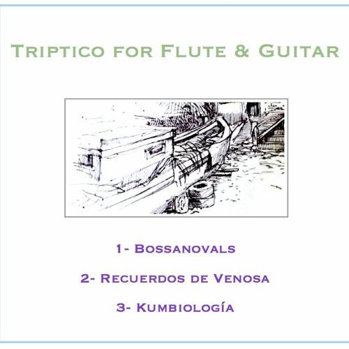 Triptico for Flute & Guitar - Paul Desenne - Demo