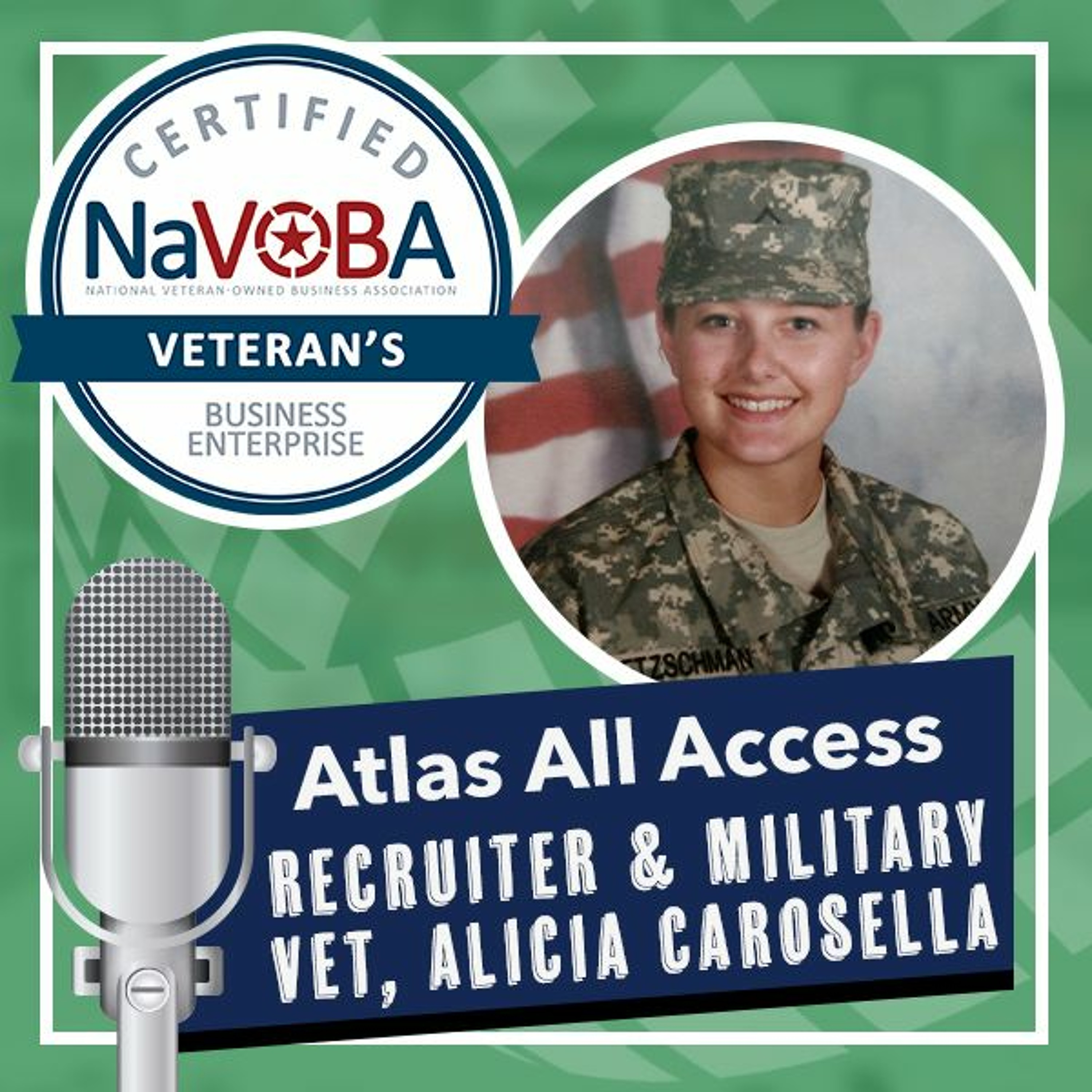 From running a landing zone for a president to becoming a nurse recruiter - Atlas All Access 142