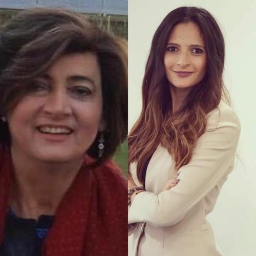 مانشيت مع اليان سعد وضيفة الحلقة الكاتبة والمحللة السياسية سكارليت حداد