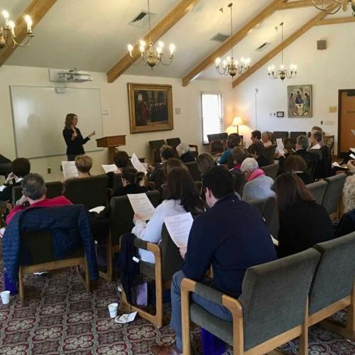 2020 St George Lenten Retreat at Manresa
